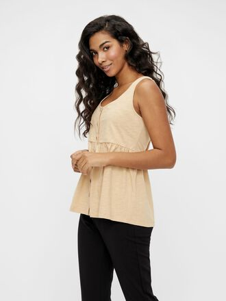 BUTTON FRONT NURSING TOP