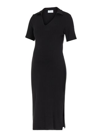 PCMTIA MATERNITY MIDI DRESS