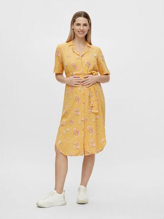 PCMTRINA MATERNITY SHIRT DRESS