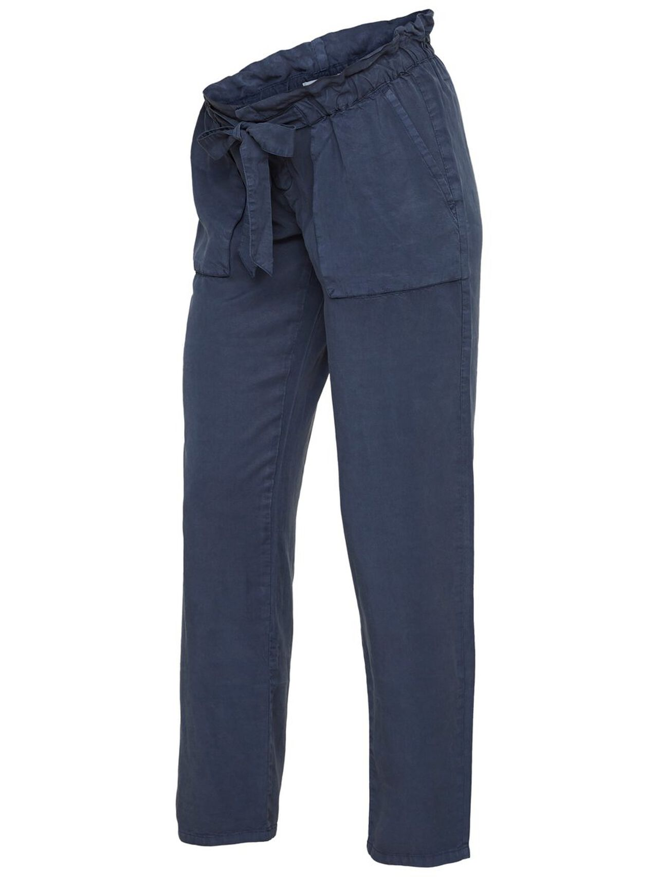 MAMA.LICIOUS Woven Trousers Women Blue