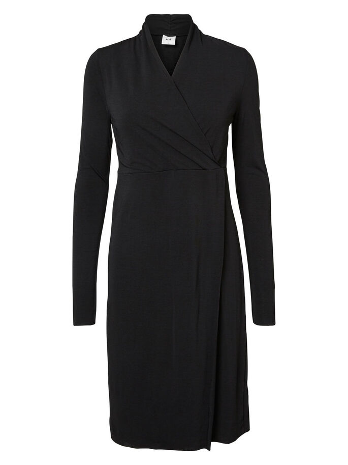 JERSEY ROBE D'ALLAITEMENT, Black, large