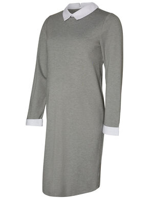 SHIRT MATERNITY DRESS