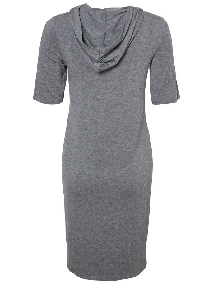 JERSEY- UMSTANDSKLEID, Medium Grey Melange, large