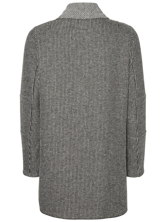 VEVD MAMMA-CARDIGAN, Dark Grey Melange, large