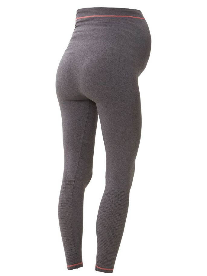 TRAININGS MATERNITY PANTS, Dark Grey Melange, large