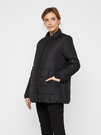 ZIPPER SIDE 2-IN-1 MATERNITY JACKET