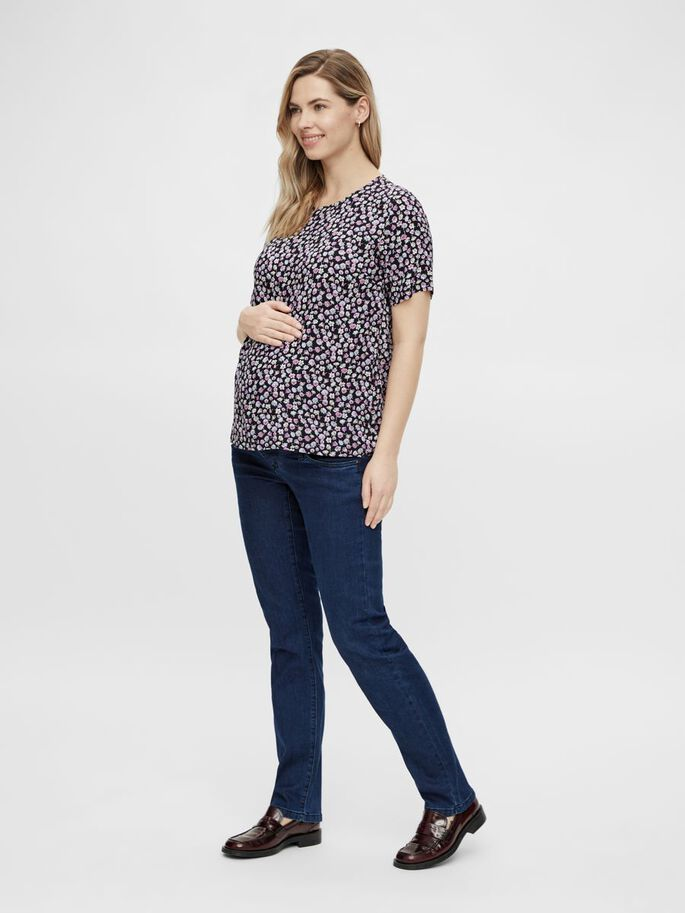 PCMNYA MATERNITY TOP, Black, large