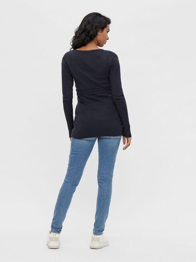 MLDEYSI TOP DE GROSSESSE 2-EN-1, Dark Navy, large