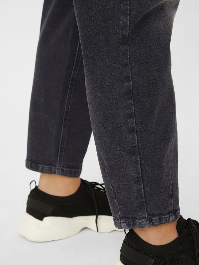 MLHOUSTON SLOUCHY JEAN DE GROSSESSE, Black Denim, large
