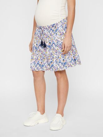 PRINTED VISCOSE MATERNITY SKIRT