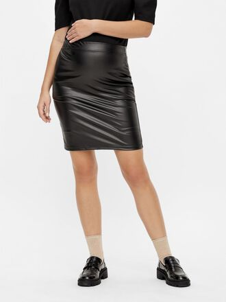 PCMSHINY MATERNITY SKIRT