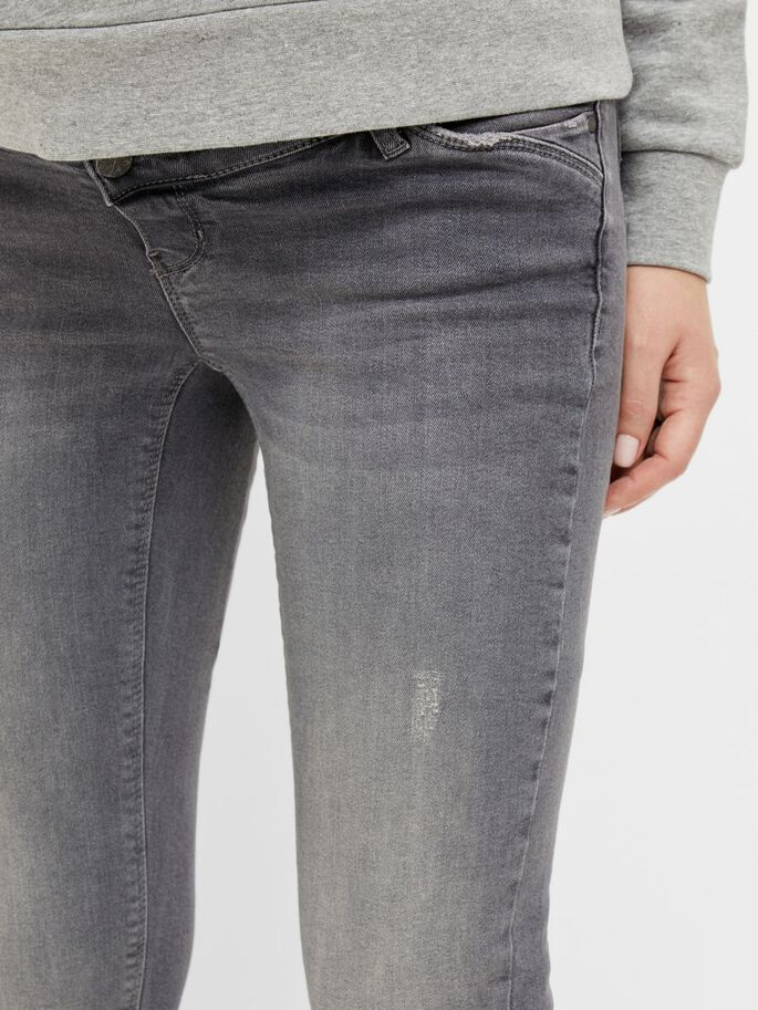 MLSAVANNA SLIM FIT MATERNITY JEANS, Medium Grey Denim, large