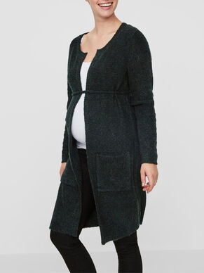 KNITTED MATERNITY CARDIGAN
