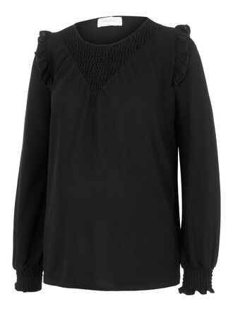 SMOCK DETAILED MATERNITY TOP