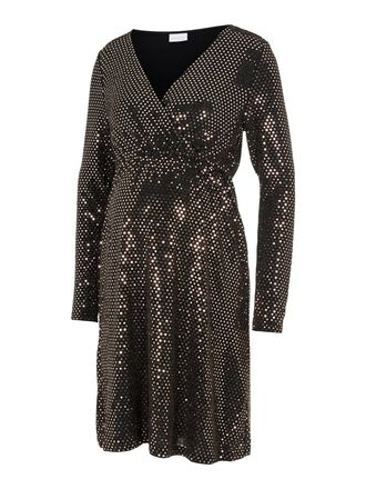 SEQUIN 2-IN-1 MATERNITY DRESS