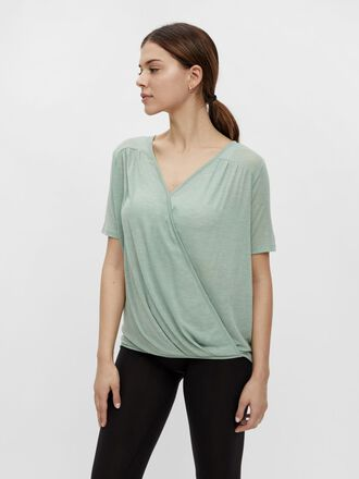 MLSMILLA WRAP NURSING TOP