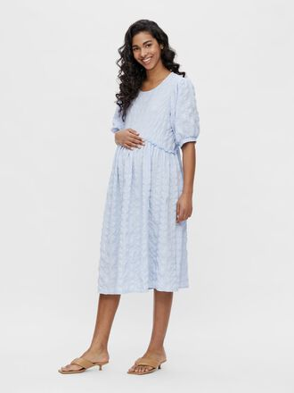 PCMLUDMILLA MATERNITY MIDI DRESS