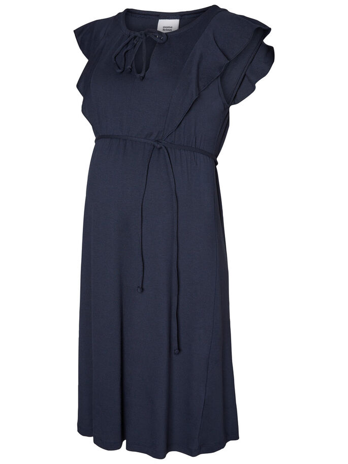 JERSEY ROBE GROSSESSE, Blue Nights, large
