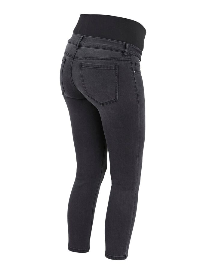 PCMLILA JEAN SLIM FIT DE GROSSESSE, Black Denim, large