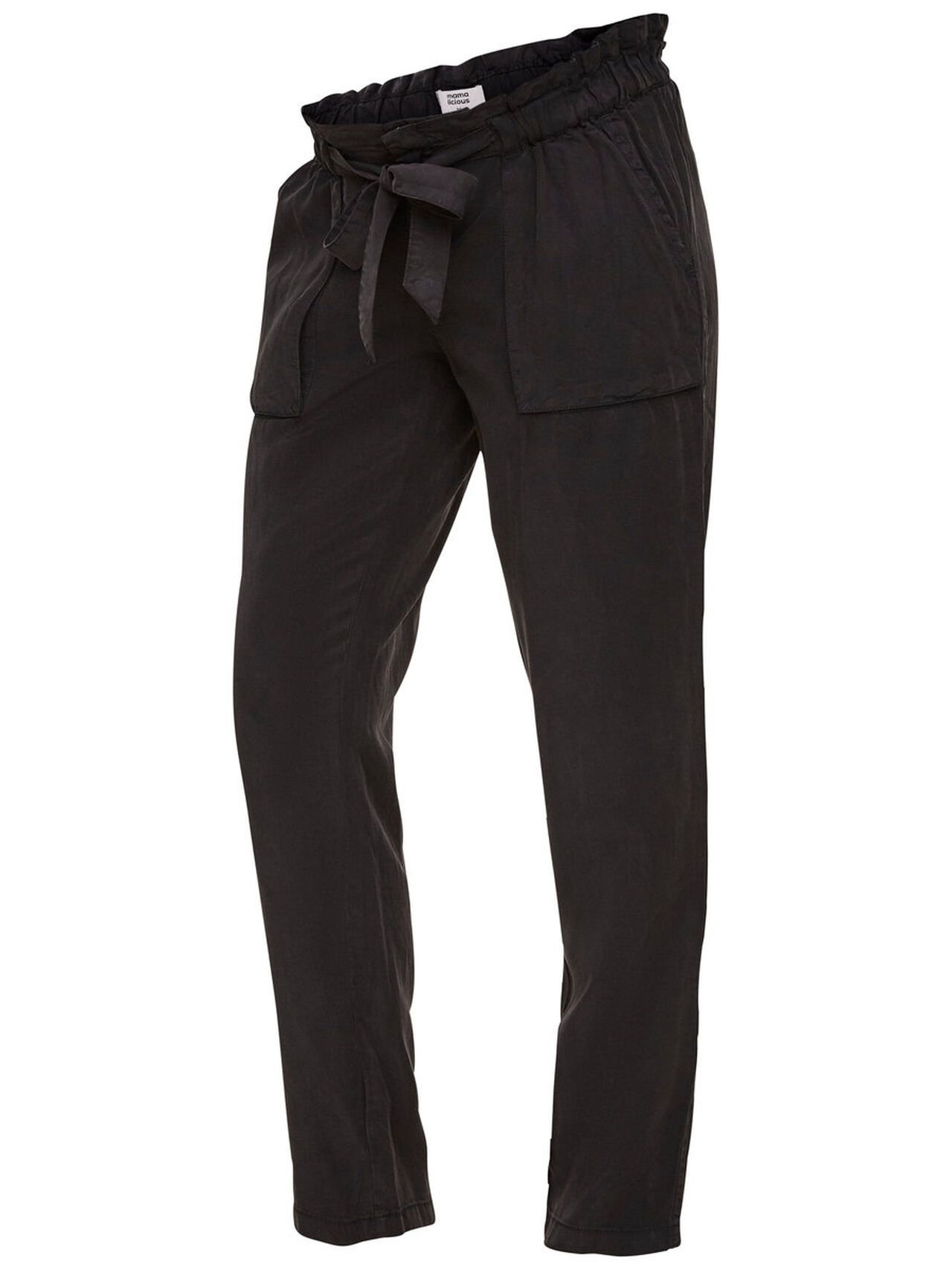 MAMA.LICIOUS Woven Trousers Women Black
