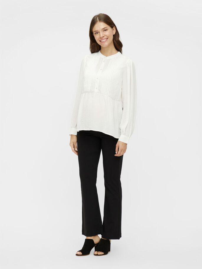 MLAMINA 2-IN-1 MATERNITY TOP, Snow White, large