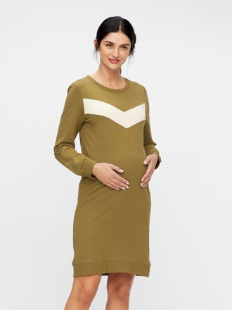 SWEATSHIRT MATERNITY DRESS