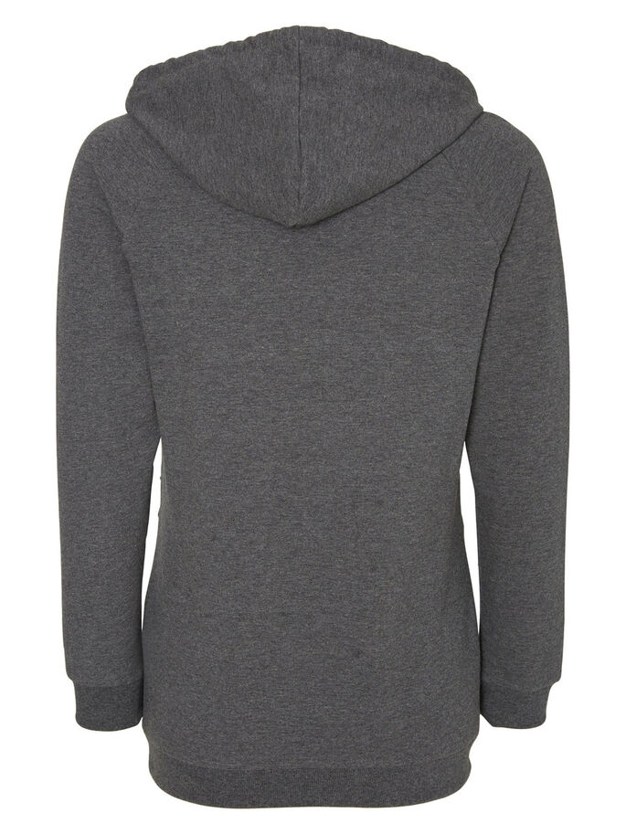 SWEAT- UMSTANDSTOP, Medium Grey Melange, large