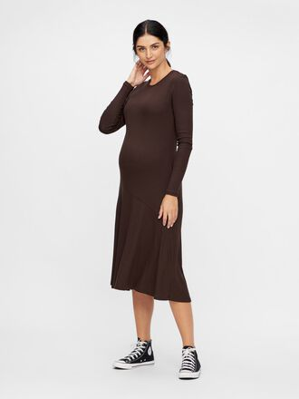 KNITTED BODYCON MATERNITY DRESS