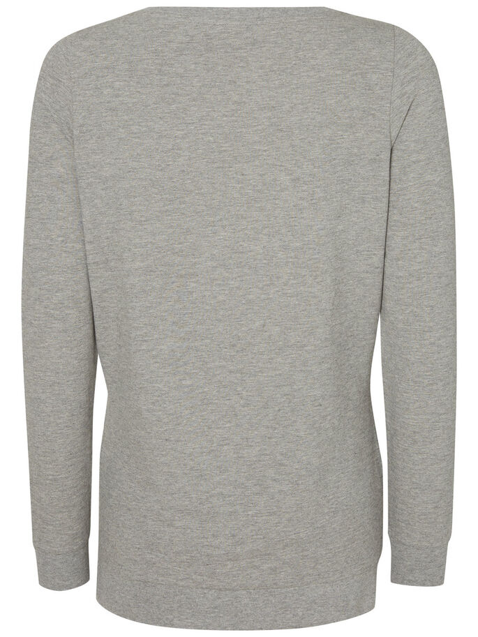 JERSEYSYDD MAMMATOPP, Light Grey Melange, large