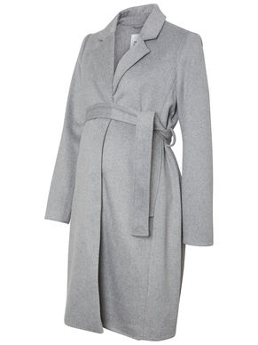 LONG SLEEVED MATERNITY COAT