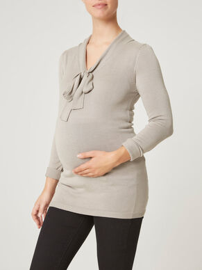 KNITTED MATERNITY BLOUSE