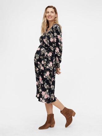 PCMPAOLA MATERNITY MIDI DRESS