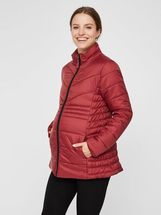 QUILTED LIGHT WEIGHT MATERNITY JACKET