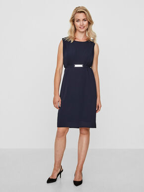 SLEEVELESS NURSING DRESS