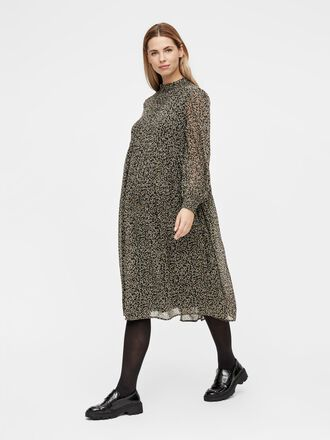 PCMTILLE MATERNITY MIDI DRESS