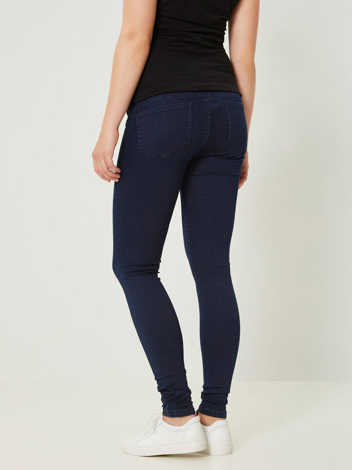 SKINNY FIT MAMMAJEANS, Dark Blue Denim, large