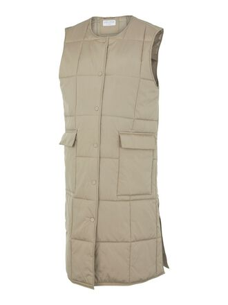 PCMBARBARA QUILTED MATERNITY VEST
