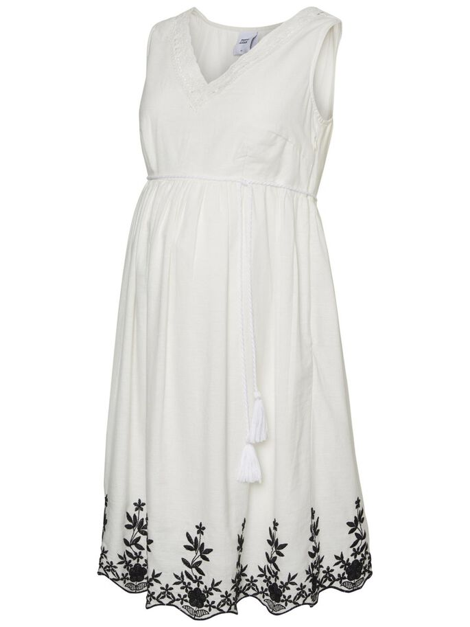 21804e3b006 Woven maternity dress