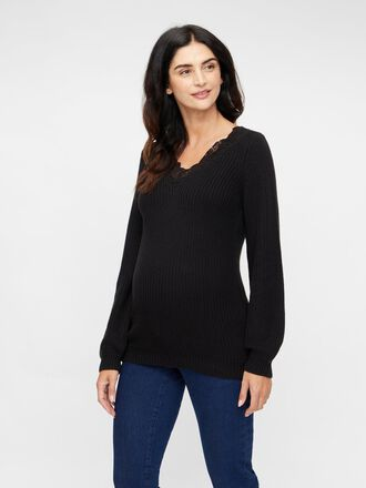 KNIT MATERNITY SWEATER