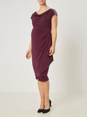 SLIM MATERNITY DRESS