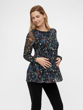 MLFATO MESH MATERNITY TOP