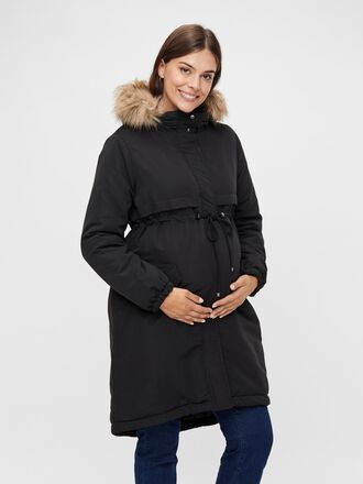 LONG PADDED MATERNITY PARKA