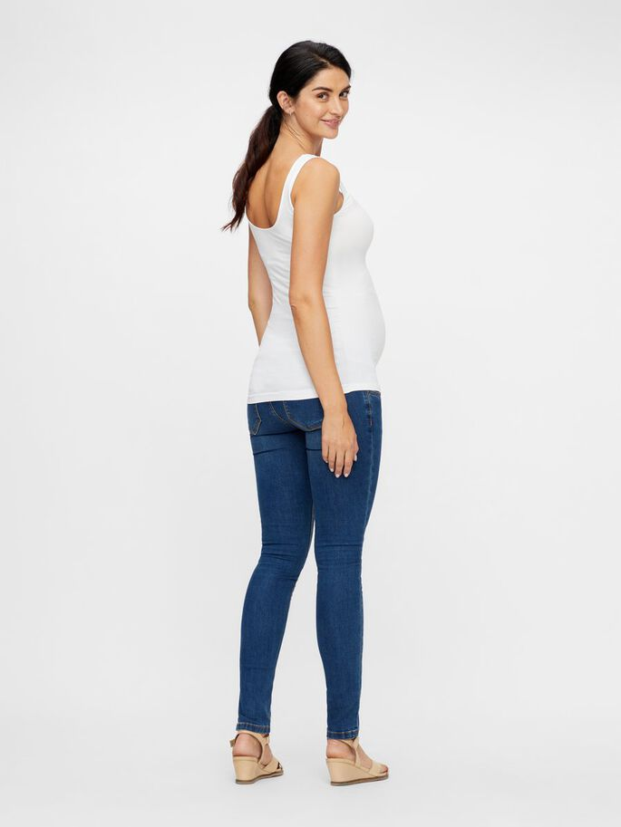 MLHEAL SEAMLESS MATERNITY TOP, Bright White, large