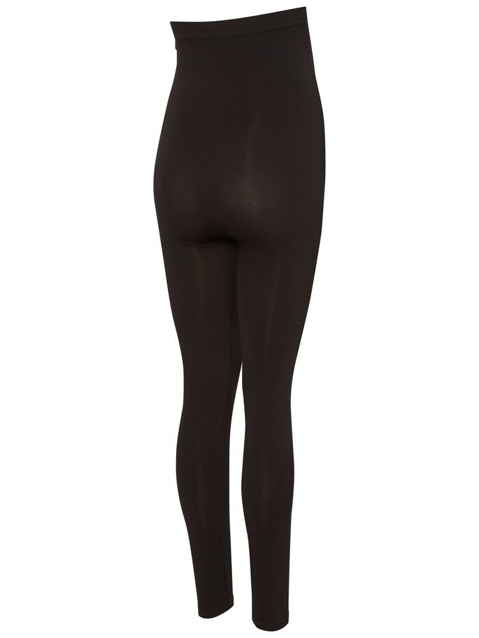 BASIC VENTELEGGINGS, Black, large