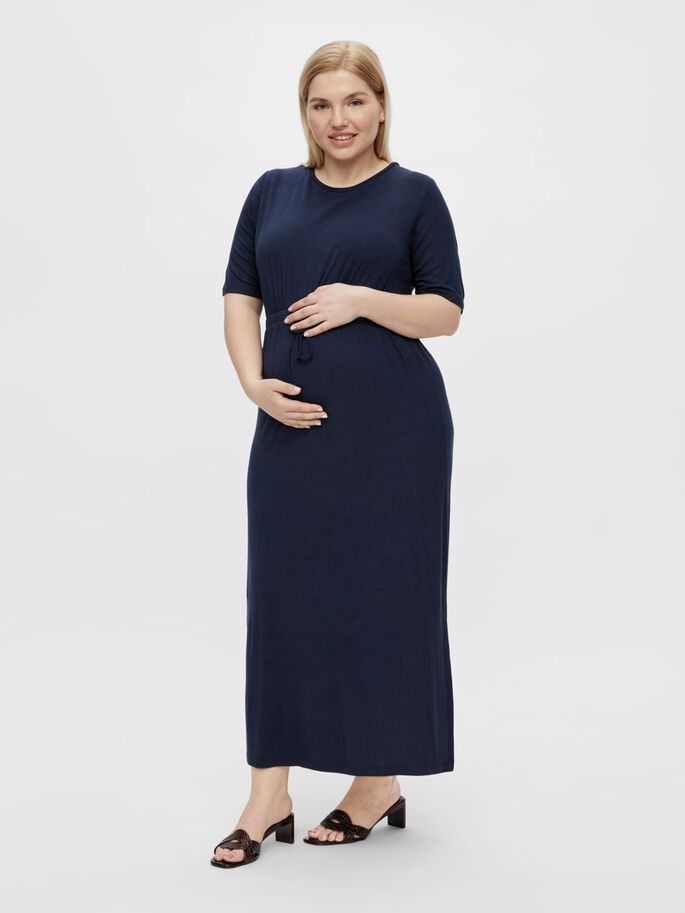 MLALISON MATERNITY DRESS, Navy Blazer, large