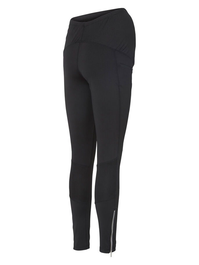 TRAININGS- TIGHTS, Black, large