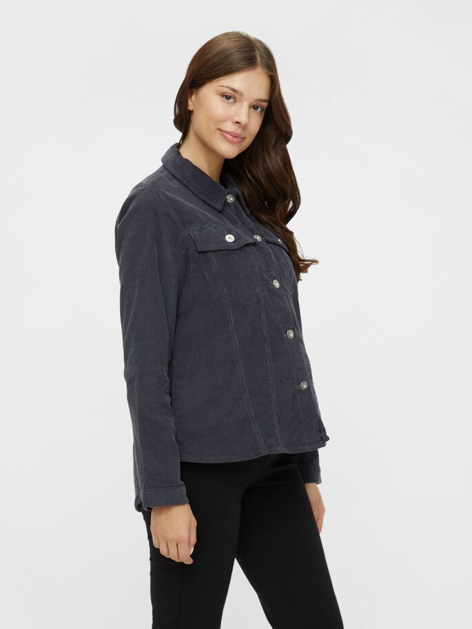 PCMPOLLY MATERNITY SHIRT, Ombre Blue, large